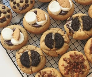 aesthetic, brown, and Cookies image