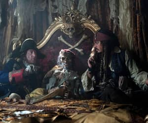 jack sparrow, pirates, and barbosa image