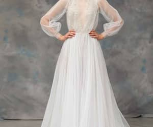 bridal, dress, and gown image
