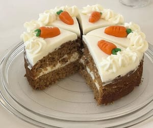aesthetic, cake, and carrot cake image