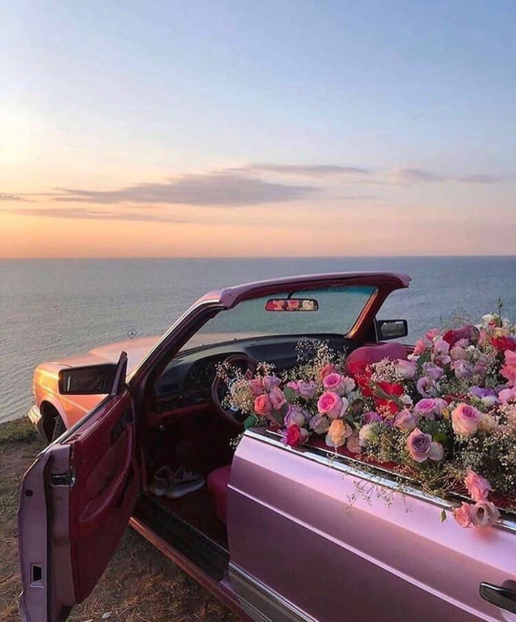 90s, flowers, and oceans image