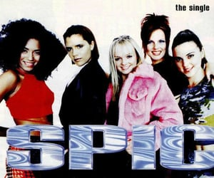 90s, spice girls, and 90s music image