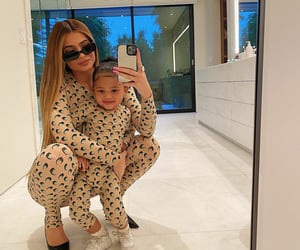 kylie jenner, kyliejenner, and stormi image