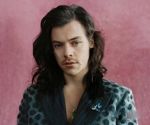 Harry Styles, harry styles edit, and long hair harry image