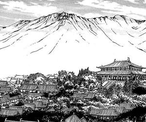 manga, anime, and anime scenery image