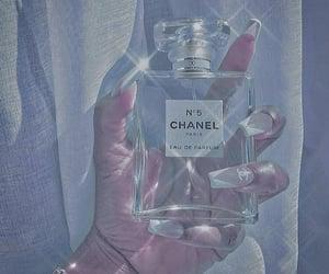 blue, chanel, and designer image