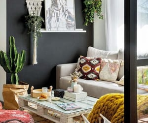 Decor boho-șic într-un apartament de 60 m² din Madrid | Jurnal de Design Interior