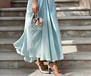baby blue, chic, and classy image