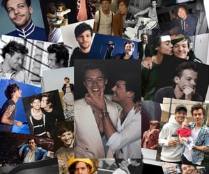 gay, larry, and 1d image