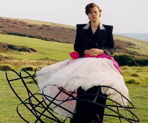 Harry Styles and vogue image
