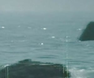 aesthetic, ocean, and vhs image
