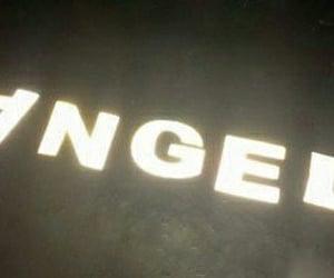 angel, light, and neon image