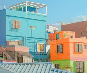 aesthetic, orange, and south korea image