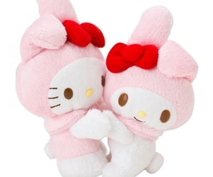 characters, hello kitty, and plushies image