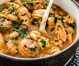 Brazilian Paprika Chicken Stew with White Beans Recipe. A hearty and comforting Brazilian Paprika Chicken Stew is possibly 1 of the best ways to warm up this fall/winter. It is also very easy to make and done in 1 pot!❤