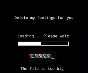 error, quotes, and feelings image