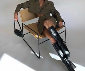 mini bag purse, black heels, and chic elegant image