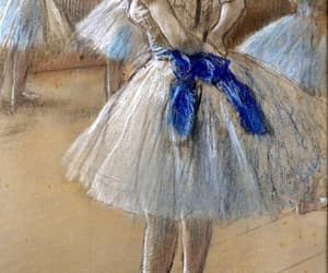degas, art, and ballerina image