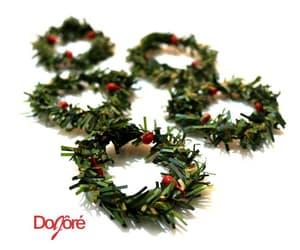 christmas, xmas, and wreaths image
