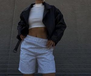 leather jacket, chic elegant, and classy glam image