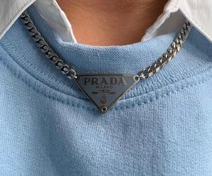 blue, Prada, and aesthetic image