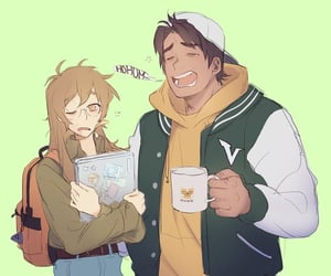 pidge, college, and hunk image