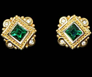 etsy, gold jewelry, and vintage jewelry image