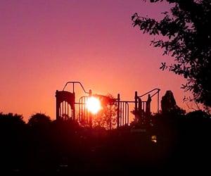 90's, night, and playground image