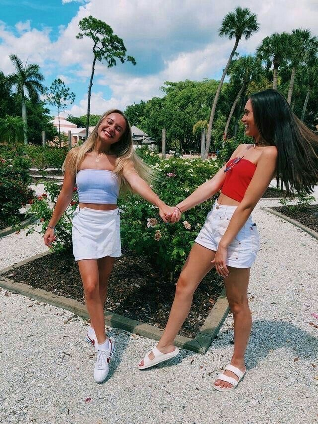 aesthetic, beauty, and bff image