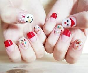 christmas, moda, and nails image