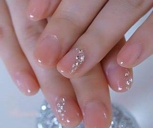 belleza, nails, and moda image