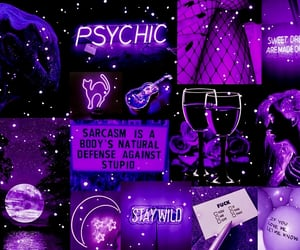 moodboard, purple, and violet image