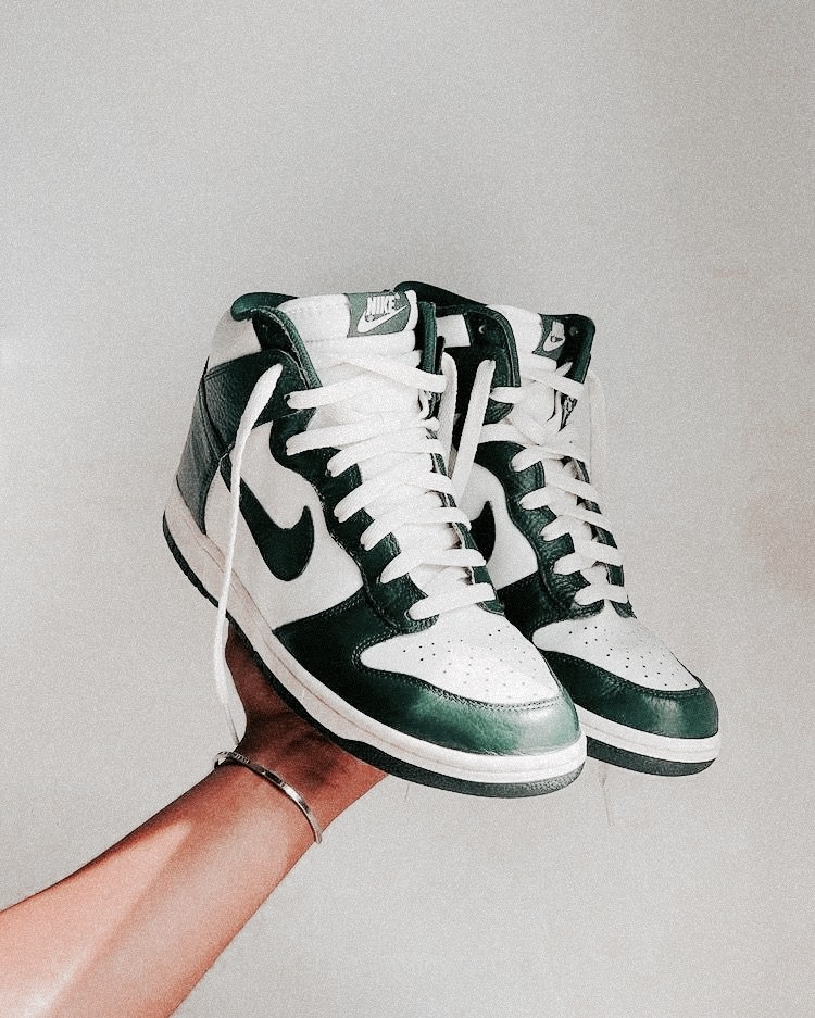 sneakers, fashion, and green image
