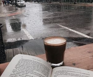 a cozy rainy day accompanied with coffee and book