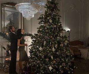 christmas, christmas tree, and luxury image