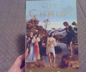 book, jesus, and religion image