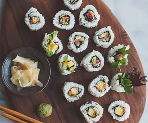 japanese, dinner, and fish image