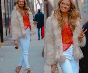 beauty, fashion, and coat image