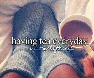 tea and just girly things image