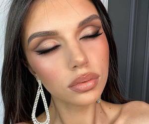 fashion, lookbook, and makeup image