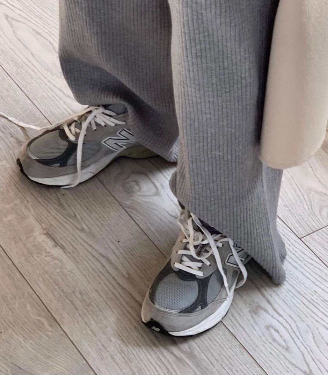 casual, grey, and sneakers image
