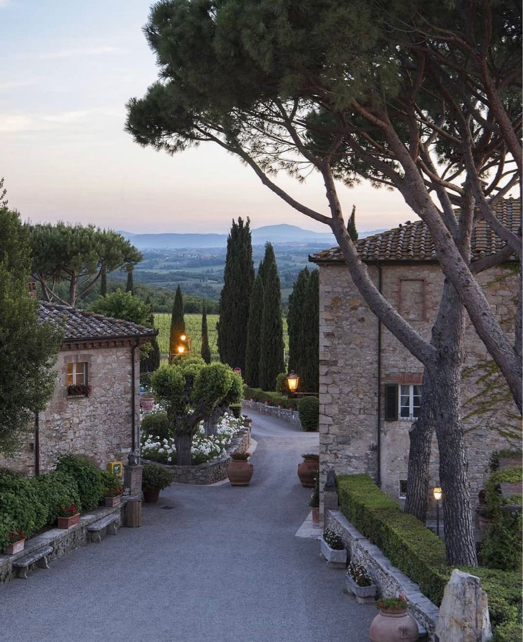 country side, Tuscany, and views image