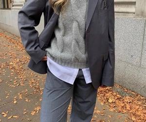 blazer, blonde, and classy image