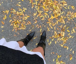boots, autumn, and fashion image