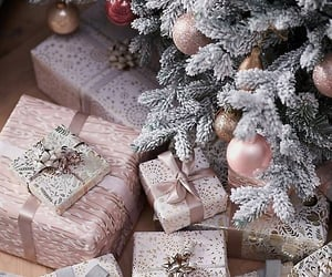 christmas, decorations, and gifts image