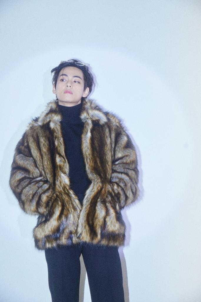 taehyung, model, and photoshoot image