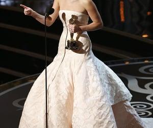 oscars, Jennifer Lawrence, and oscar award image