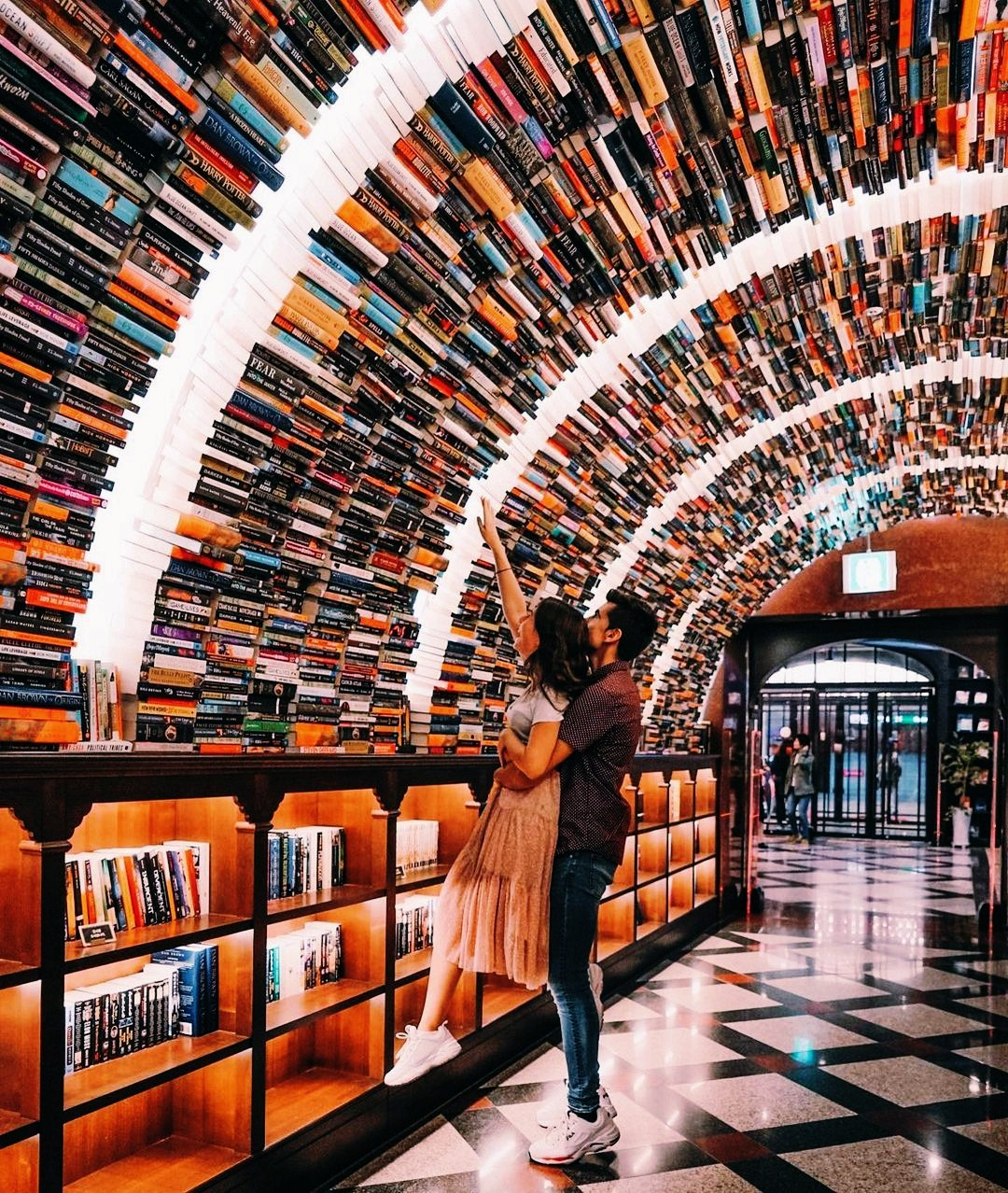 books, couples, and girls image