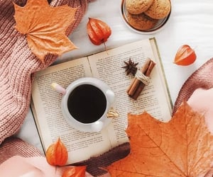 All we need is coffee and a good book.