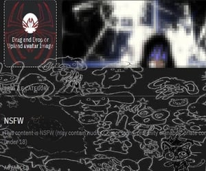 anime, cybergoth, and anime drain image